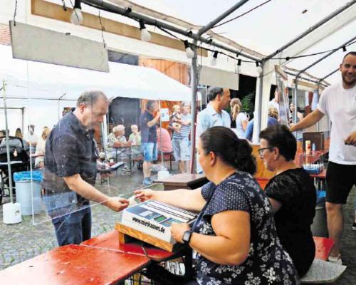 Testzentrum soll in Schmiden die Hocketse sichern