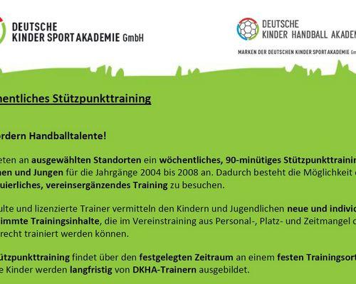 Wöchentliches Stützpunkttraining der DKHA ab September in Oeffingen